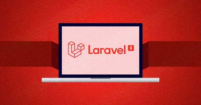 install laravel 8