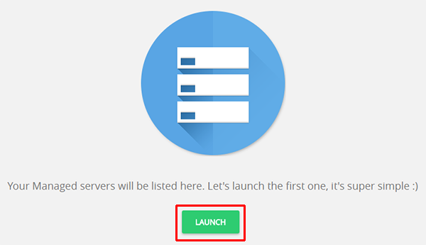 Launch Cloud Server