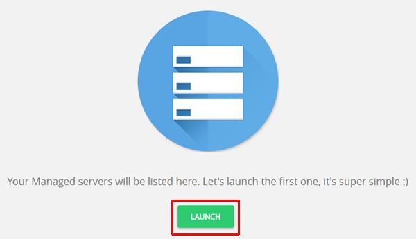 Launch Server Cloudways