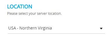 aws data center location