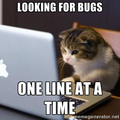 Looking for Bugs