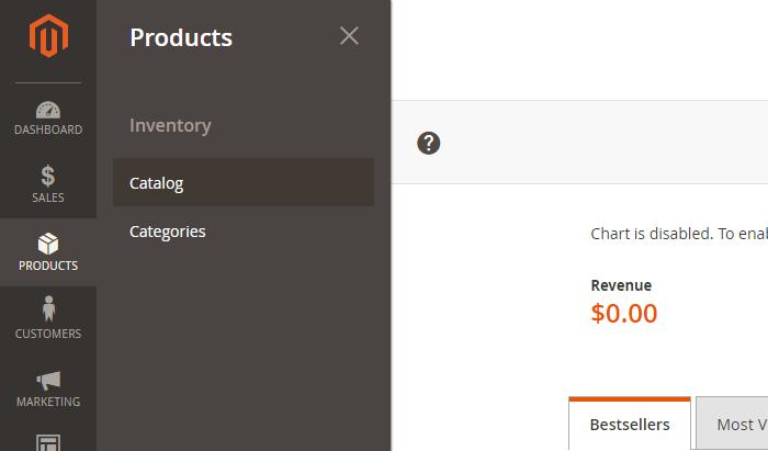 Magento 2 Product Catalog