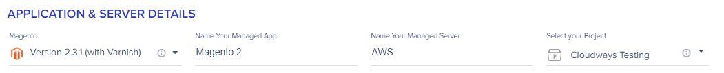 Magento AWS Hosting Cloudways 3