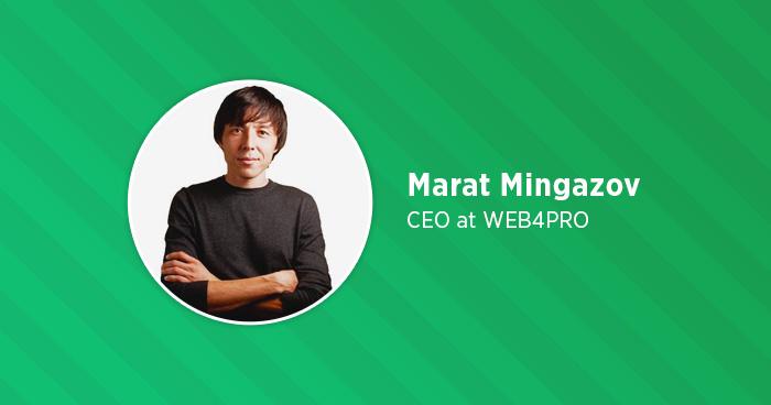 Marat Mingazov Interview