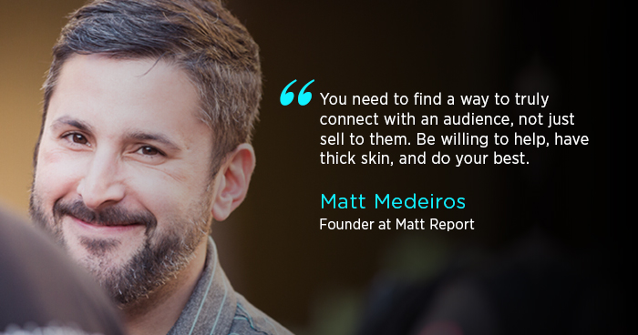 Matt Medeiros Interview