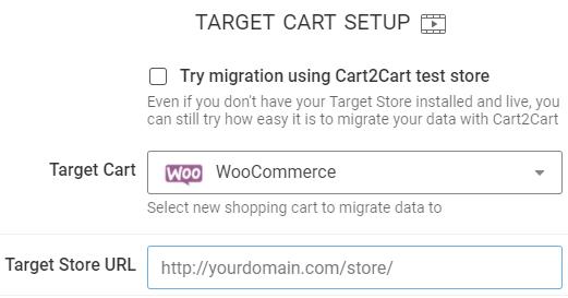 Target Store URL