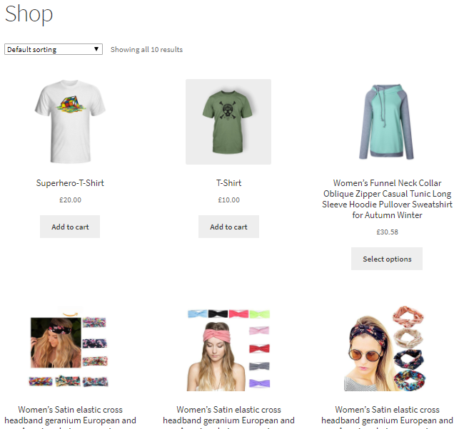 Shopify to WooCommerce store
