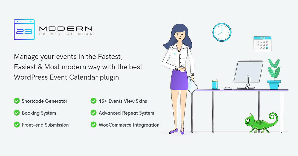 Modern Events Calendar: An Event Management WordPress Plugin