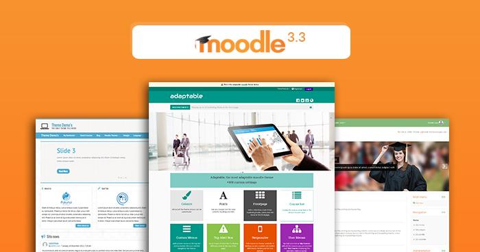 Moodle 3.3 Themes