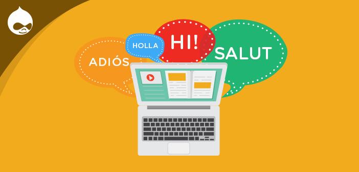 setup multilingual drupal website