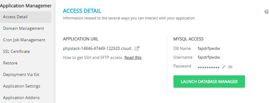 MySQL Access