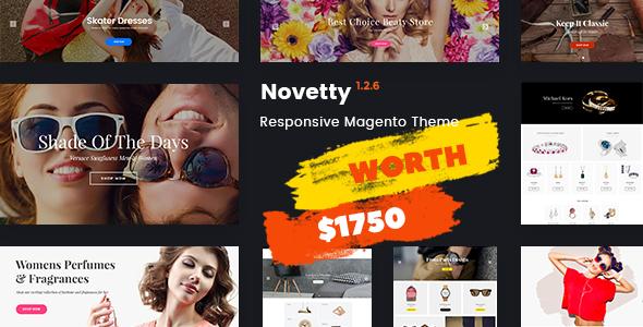 Novetty Magento 2 Theme