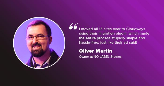 Oliver of NoLabel Studios