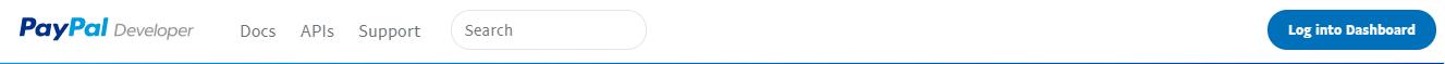 PayPal Login Dashboard