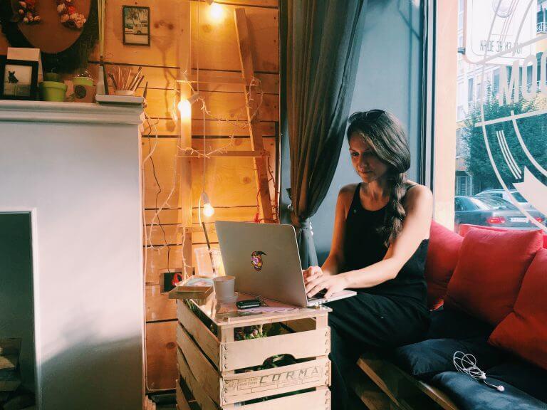 Petya Raykovska Workplace