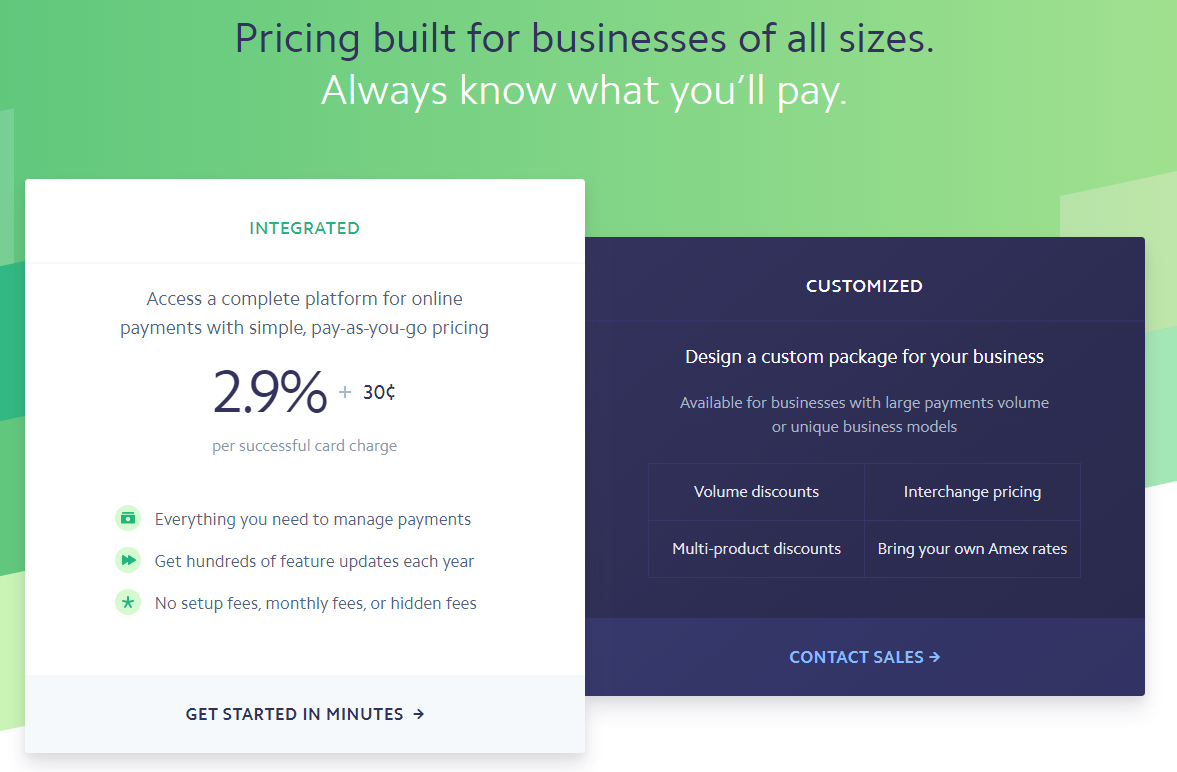 Pricing Built