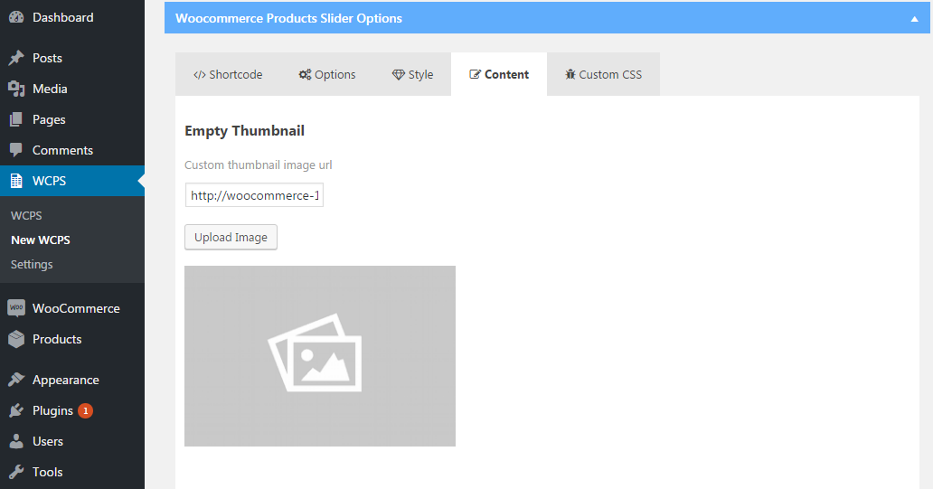Product Slider Content