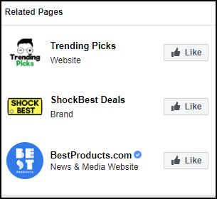 Facebook Related Pages