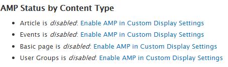 amp module configuration
