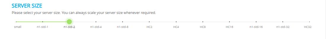 Server-size