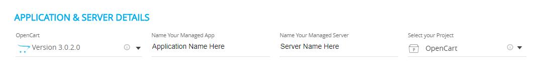 Select OpenCart Cloudways