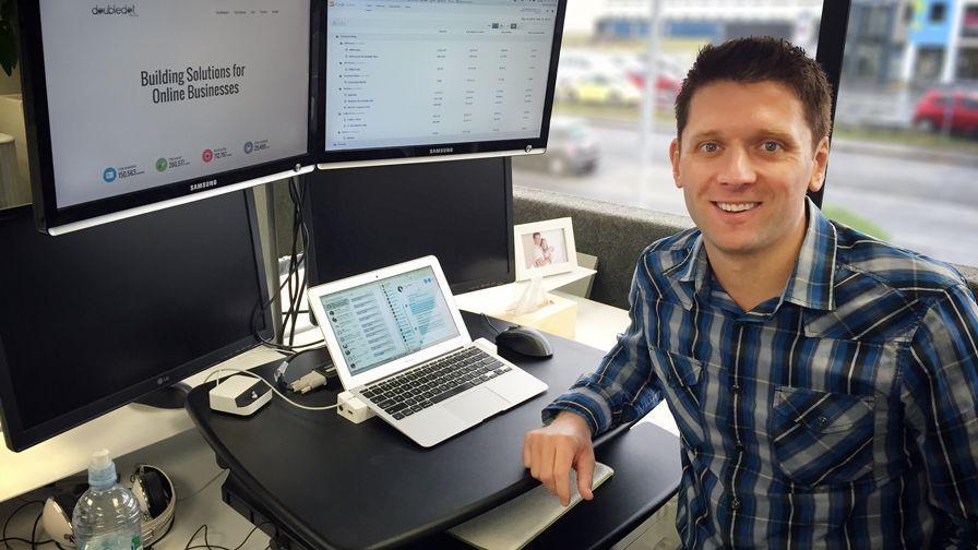 Simon Slade CEO SaleHoo Workplace