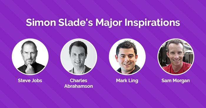 Simon Slade's Inspiration