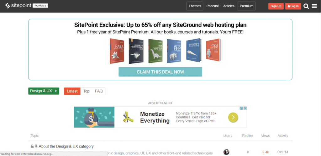Sitepoint Community