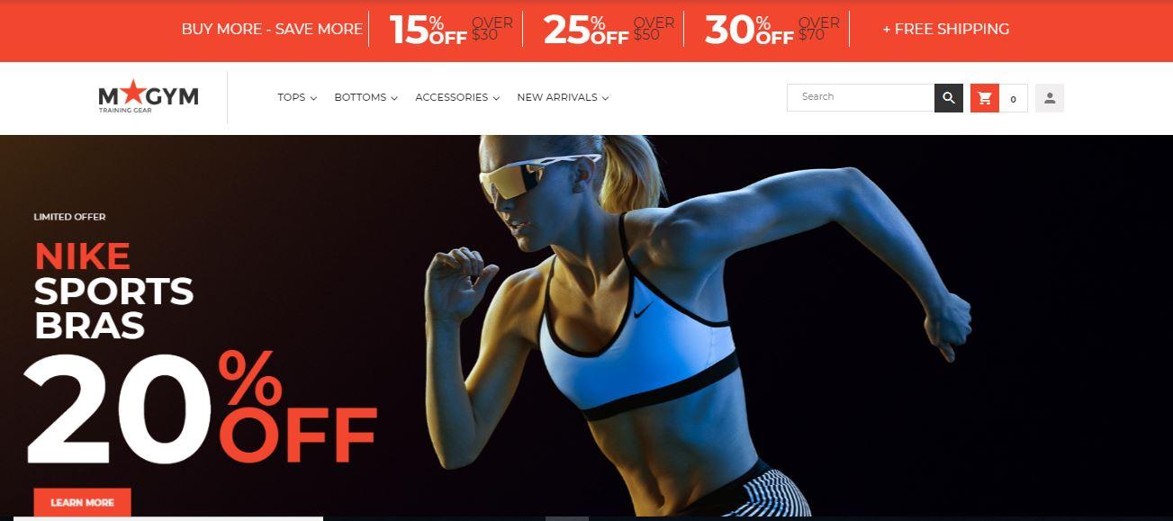 MyGym - Sport Store Magento Theme