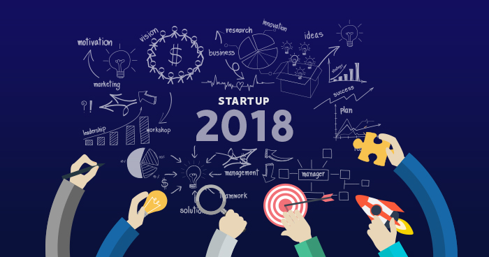Start a startup business in 2018