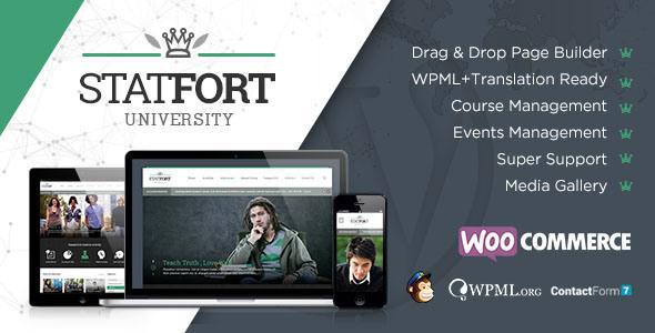 Statfort Educational WordPress Theme