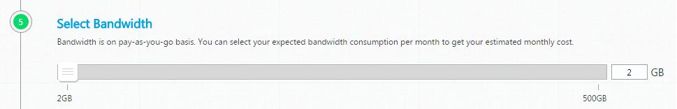 Select Bandwidth