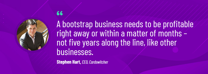 bootstrapping a startup tips