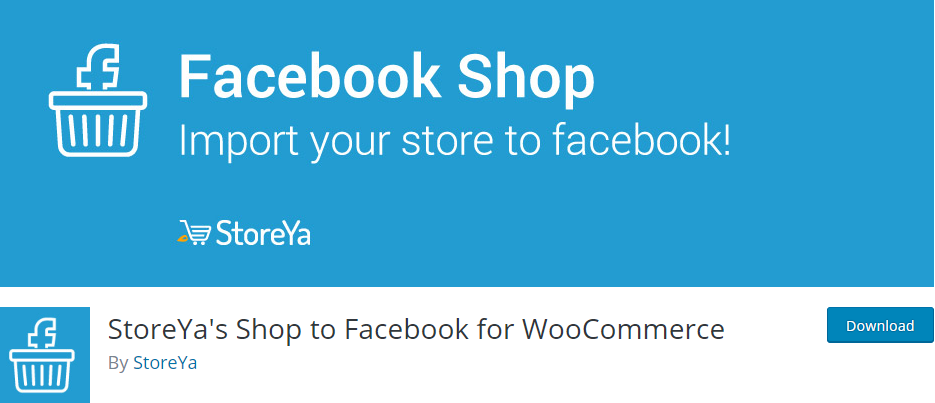 StoreYa's Shop to Facebook for WooCommerce