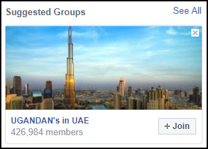 Suggested groups