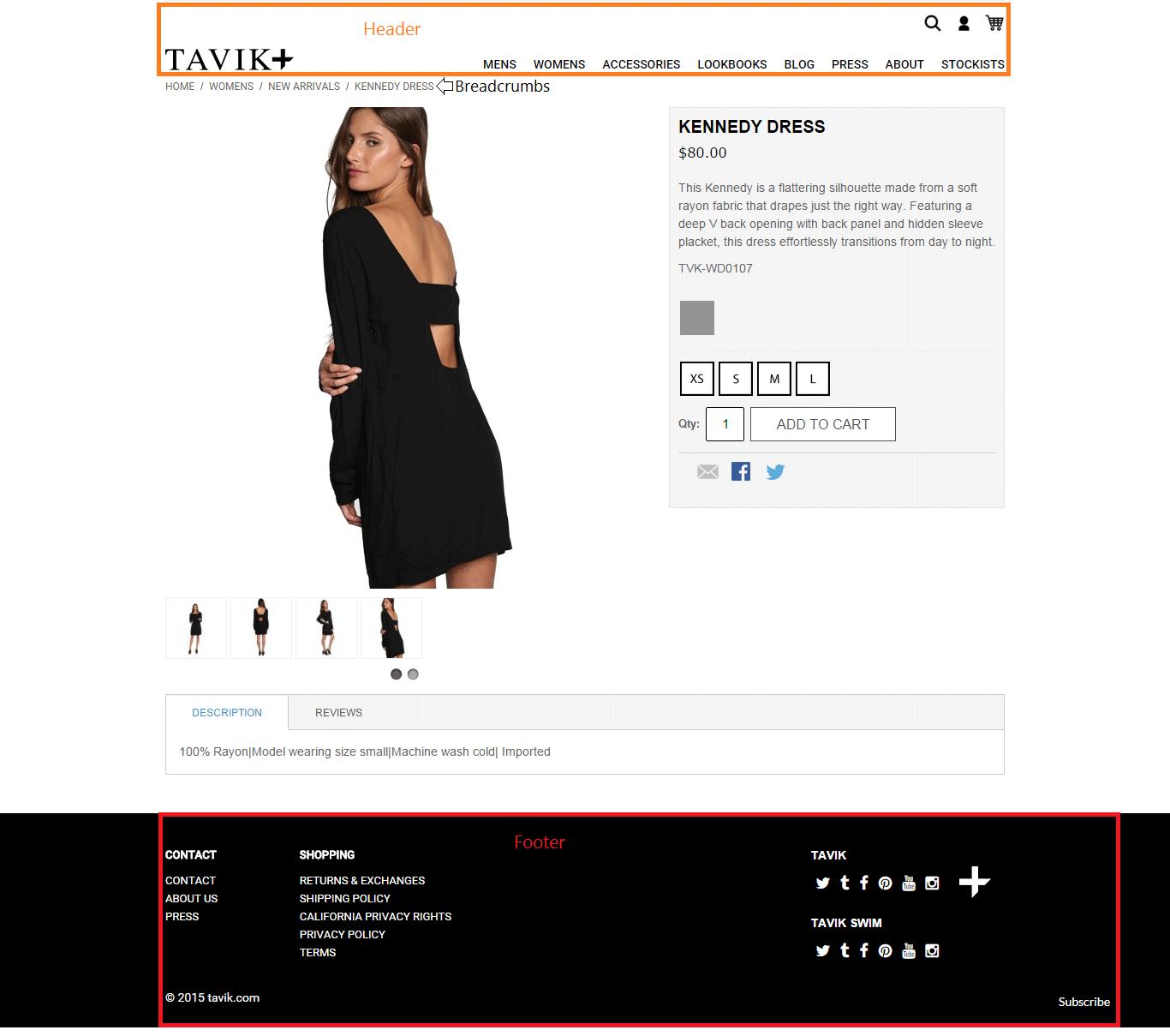 Tavik Dress