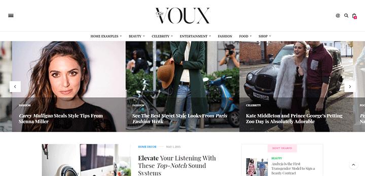 The Voux Theme