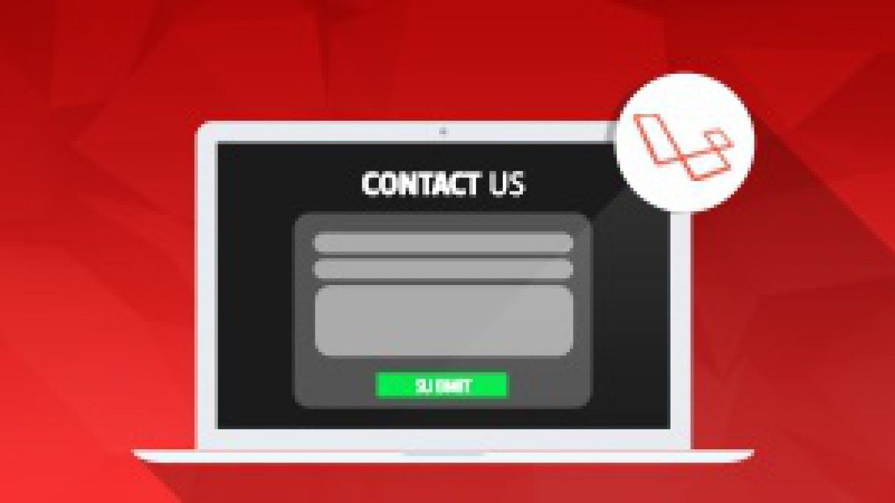 Create a Laravel Contact Us form with Email