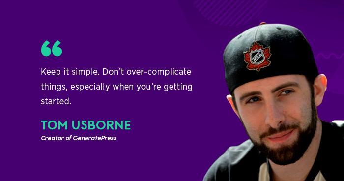Tom-Usborne-GeneratePress-WordPress