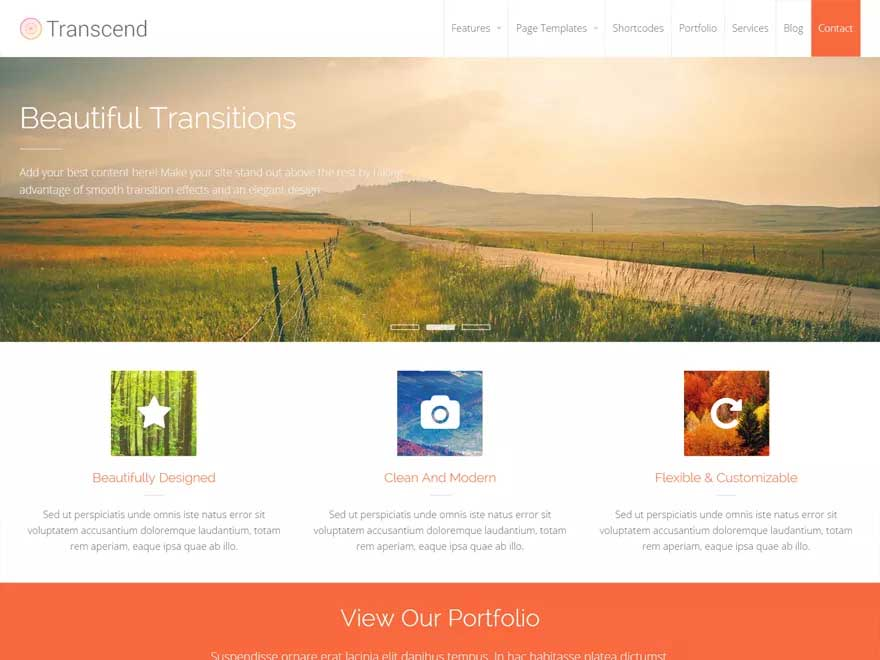 Transcend by cpothemes