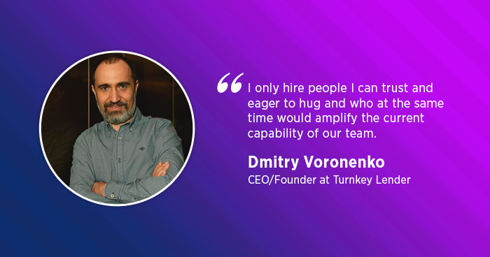 TurnKey Lender CEO Dmitry Voronenko