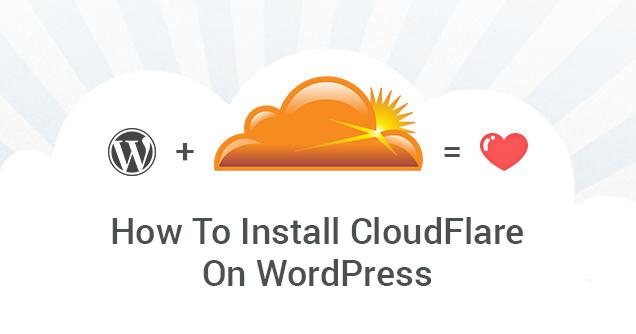 Install Cloudflare on WordPress