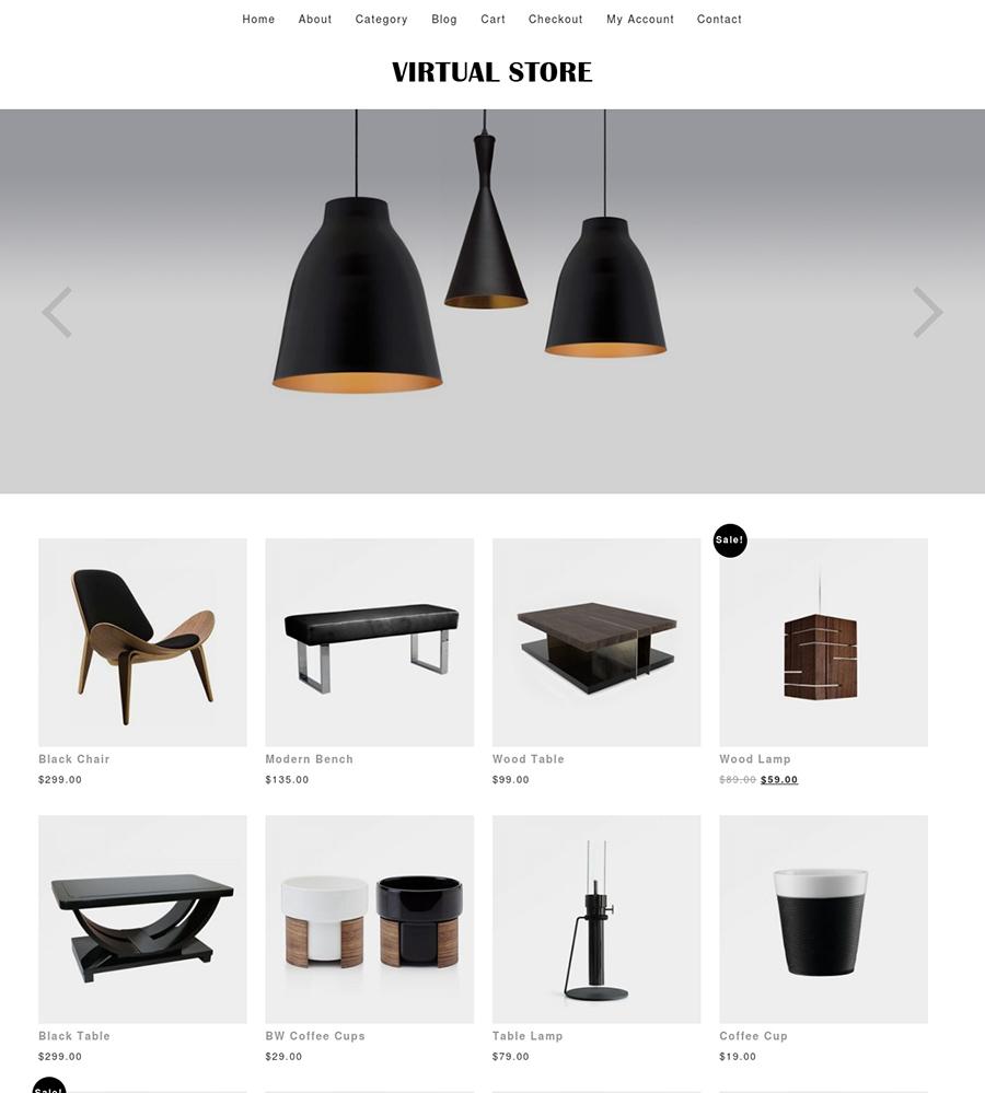 Virtual Store WooCommerce Theme