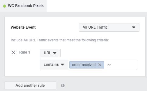 WC Facebook Pixels
