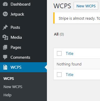 WCPS Setting - WooCommerce Product Slider