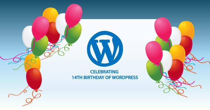 Celebrating 14th Birthday of WordPress