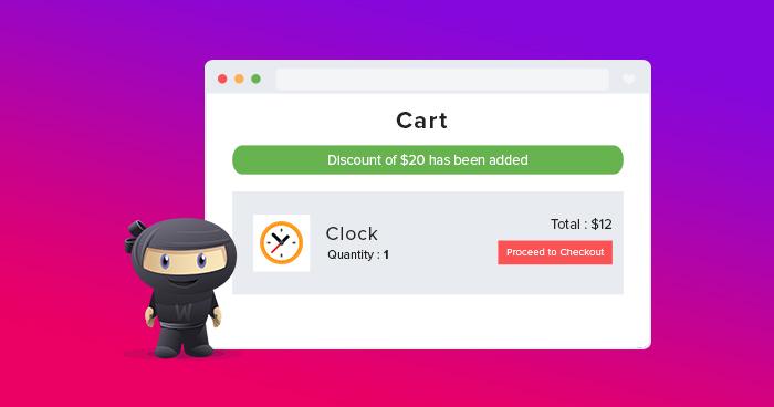 WooCommerce Discount Cart