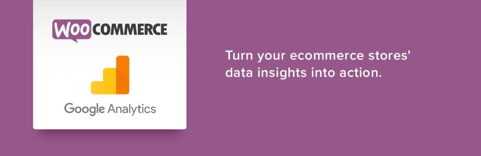 WooCommerce plugins - Google Analytics