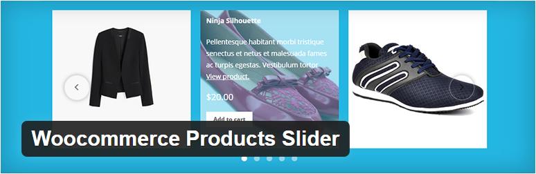 WooCommerce plugins - product slider