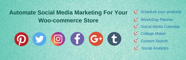 WooCommerce plugins - social media marketing